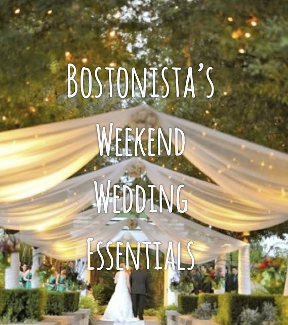 what to pack: weekend wedding