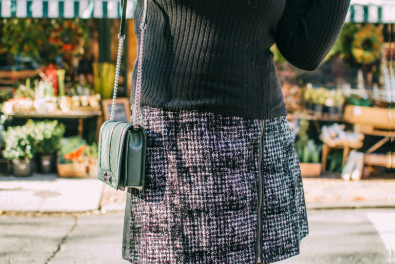 Outfit Details at a Beacon Hill Flower Shop