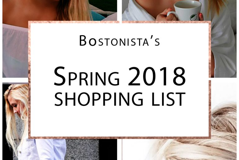spring style shopping list